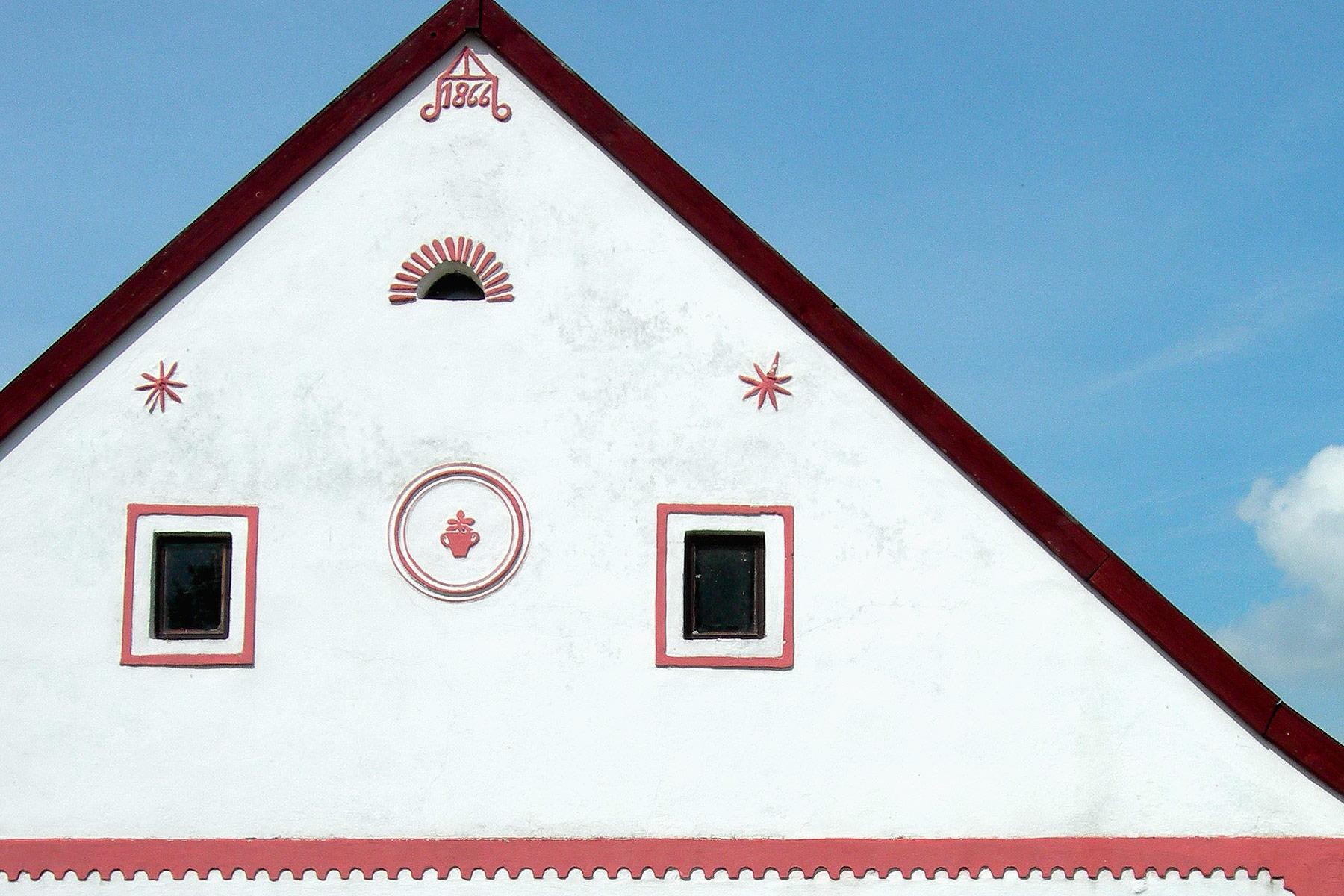 Le case-fattoria di Holasovice