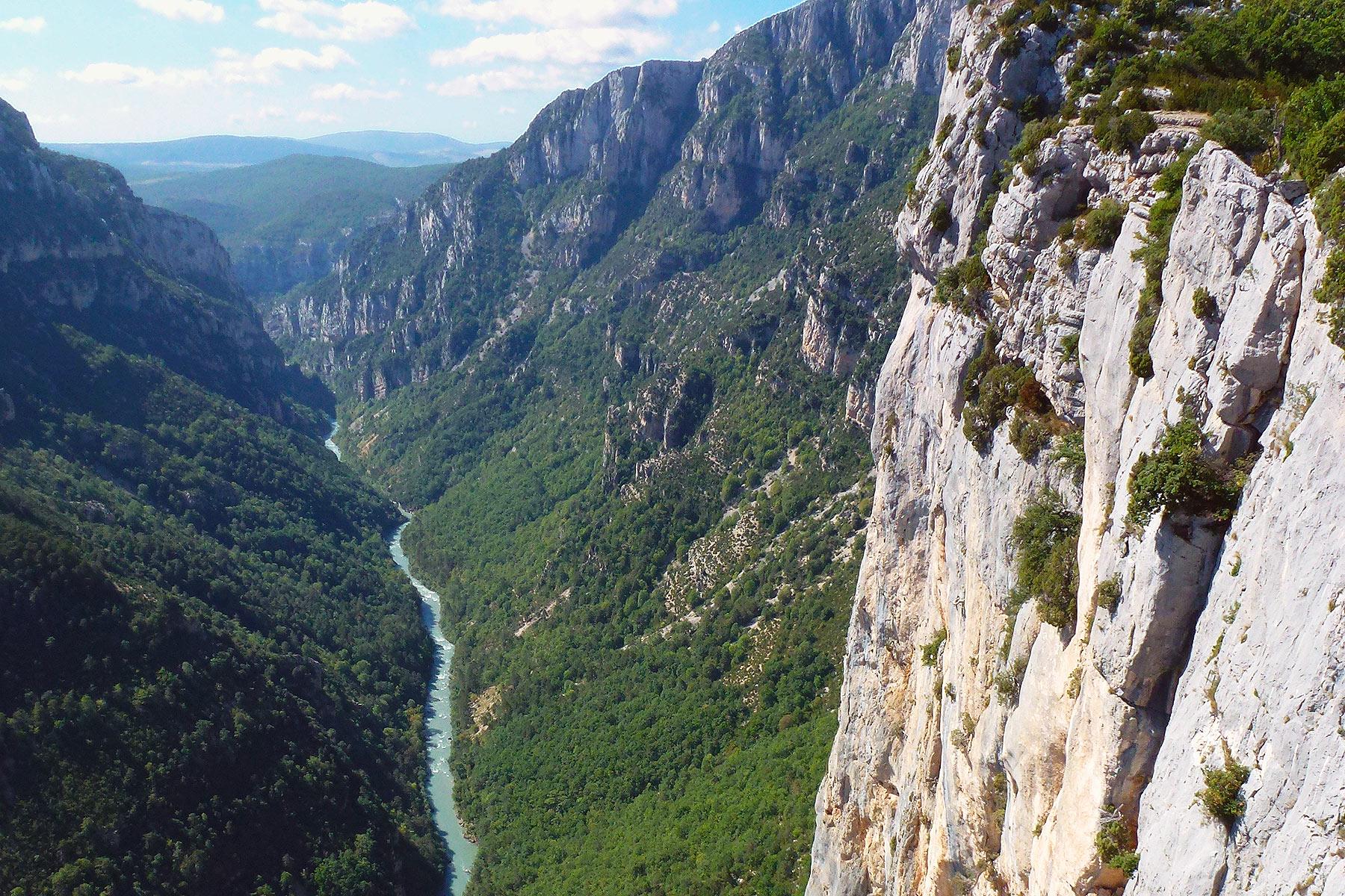Il canyon più grande d'Europa